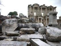 Ephesus破坏土耳其 免版税库存照片