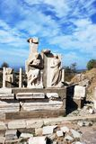 ephesus废墟 免版税图库摄影