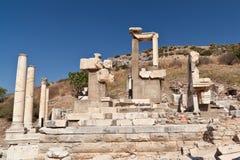 Ephesus的历史记录 免版税库存图片