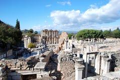 Ephesus,伊兹密尔,土耳其,中东 免版税库存图片