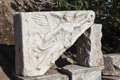 Ephesus, Τουρκία Η εικόνα της θεάς της νίκης Nike Στοκ φωτογραφία με δικαίωμα ελεύθερης χρήσης