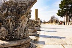 Ephesus в списке всемирного наследия ЮНЕСКО стоковая фотография