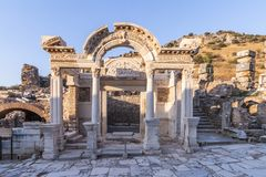 Ephesus, Турция Мифология, свод стоковое изображение