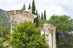 Ephesus stockfotografie