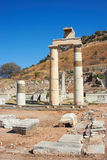 Ephesus. Ruins in ancient Ephesus, Turkey Royalty Free Stock Photos