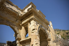Ephesus. Ancient city Ephesus, Selcuk, Turkey Royalty Free Stock Photos