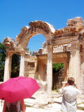 Ephesus 3. Ephesus, Hadrian Door, Izmir Turkey stock photography