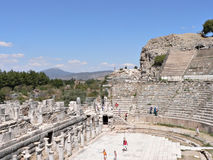 Ephesus. Image of Ephesus , the biggest city of its time Stock Photography