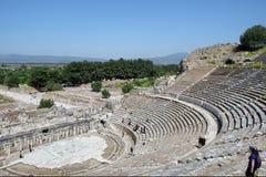 Ephesus amfiteater arkivfoto