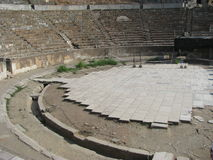 Ephesus amfiteater Royaltyfri Fotografi