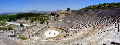 ephesus amfiteatrze Zdjęcia Stock