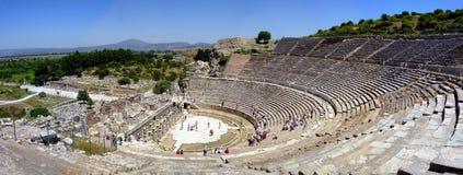 Ephesus Amphitheatre Stock Foto's