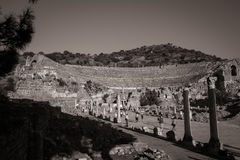 Ephesus Amphitheatre Stock Photo