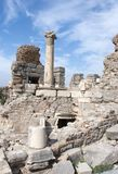 Ephesus Ancient City Ruins Royalty Free Stock Image