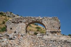 Ephesus Ancient City Stock Photo