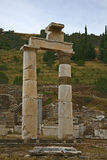Ephesus ancient city. Ephesus which was established as a port, was used to be the most important commercial centre.nEphesus in the UNESCO World Heritage ListnThe Royalty Free Stock Photos