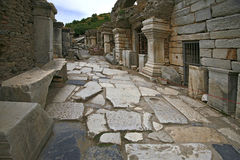 Ephesus ancient city. Ephesus which was established as a port, was used to be the most important commercial centre.nEphesus in the UNESCO World Heritage ListnThe Stock Photos