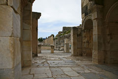 Ephesus ancient city Royalty Free Stock Photography