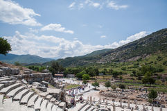Ephesus (ancient Greek city) Stock Photo