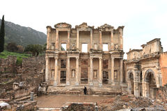 Ephesus ruins Turkey Stock Photos