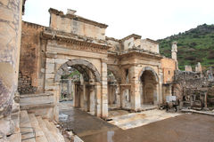 Ephesus ruins Turkey Stock Photography