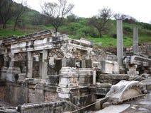 Ephesus ruins Turkey stock photo