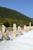 Ephesus ancient greek ruins in Anatolia Turkey Royalty Free Stock Photos