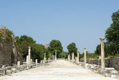 Ephesus ancient greek ruins in Anatolia Turkey Stock Image