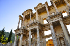Ephesus. The ancient ruin of Greek city Ephesus Stock Photography