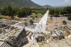 Ephesus ancient site, Turkey Royalty Free Stock Image