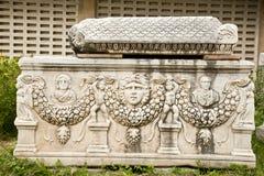 Ephesus ancient tombs Stock Photo