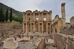 Ephesus antieke stad Izmir Turkije royalty-vrije stock afbeelding
