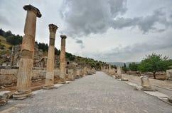 Ephesus antik stad izmir Turkiet royaltyfri bild