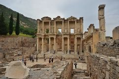 Ephesus antique city izmir Turkey Royalty Free Stock Image