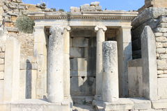 Ephesus antique ruins of the ancient city in Turkey Royalty Free Stock Photography