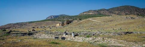 Ephesus Antycznego miasta krajobraz obrazy royalty free