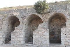 Ephesus antykwarskie ruiny antyczny miasto w Turcja Fotografia Stock