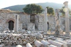 Ephesus antykwarskie ruiny antyczny miasto w Turcja Zdjęcie Royalty Free