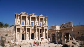 Ephesus Bibliothek Lizenzfreies Stockfoto