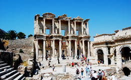 Ephesus Celcius Library. Ephesus, the library of Celcius Royalty Free Stock Photography