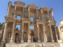 Ephesus Celsus Library Stock Images