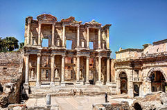 Ephesus. Celsus Library in Ephesus Turkey Royalty Free Stock Photography
