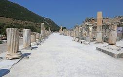 Ephesus Colonnade Stock Image