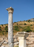 Ephesus columns 1 Royalty Free Stock Photography