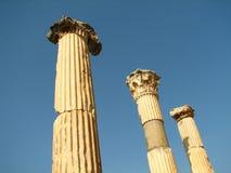 Ephesus columns Royalty Free Stock Image