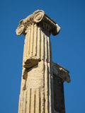 Ephesus columns Royalty Free Stock Photo