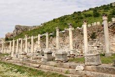 Ephesus columns Stock Images