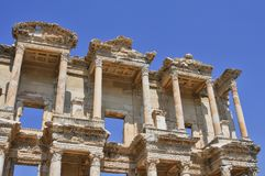 Ephesus, in the current province of Izmir, Turkey. Ephesus was an ancient Greek city in the current province of Izmir, Turkey, built in the 10th century BC royalty free stock image