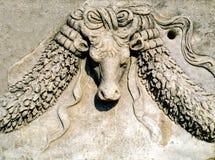 Ephesus, Detail. Detail on ancient Greek building in Ephesus, Turkey Royalty Free Stock Image