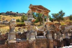 Ephesus, die Türkei Stockbild